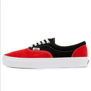 Vans Era Retro Skate Racing Red / True White